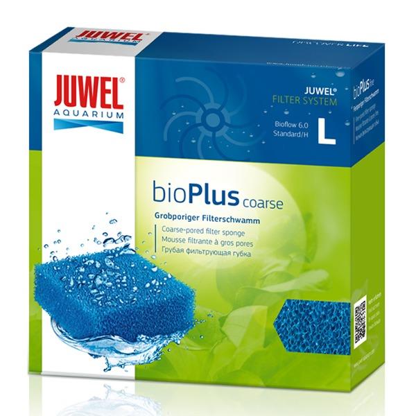 JUWEL bioPlus Coarse L mousse à maille large pour filtre Juwel Bioflow 6.0 et Standard. Dimensions 12,5 x 12,5 x 5 cm