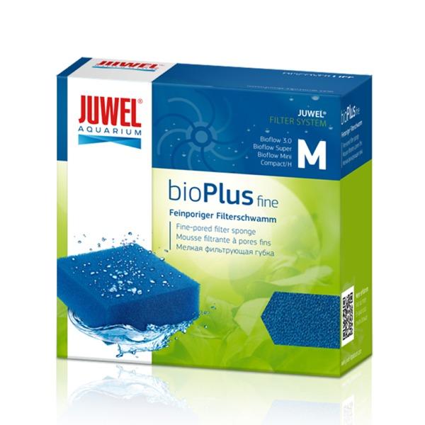 JUWEL bioPlus Fine M bloc de mousse à maille fine pour filtre Juwel Bioflow Mini, Bioflow 3.0 et Compact. Dimensions 9,5 x 9,5 x 4,8 cm