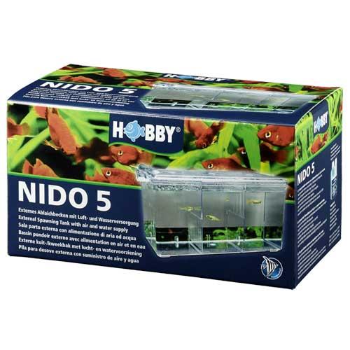 HOBBY Nido 5 pondoir flottant 26 x 14 x 13 cm avec système d\'oxygénation