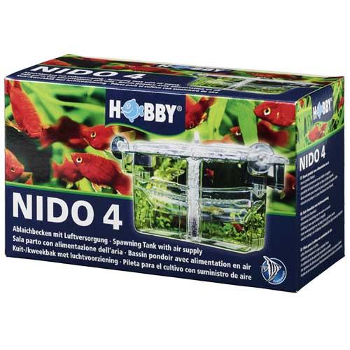 HOBBY Nido 4 pondoir flottant 13 x 10 x 11,5 cm avec système d\'oxygénation