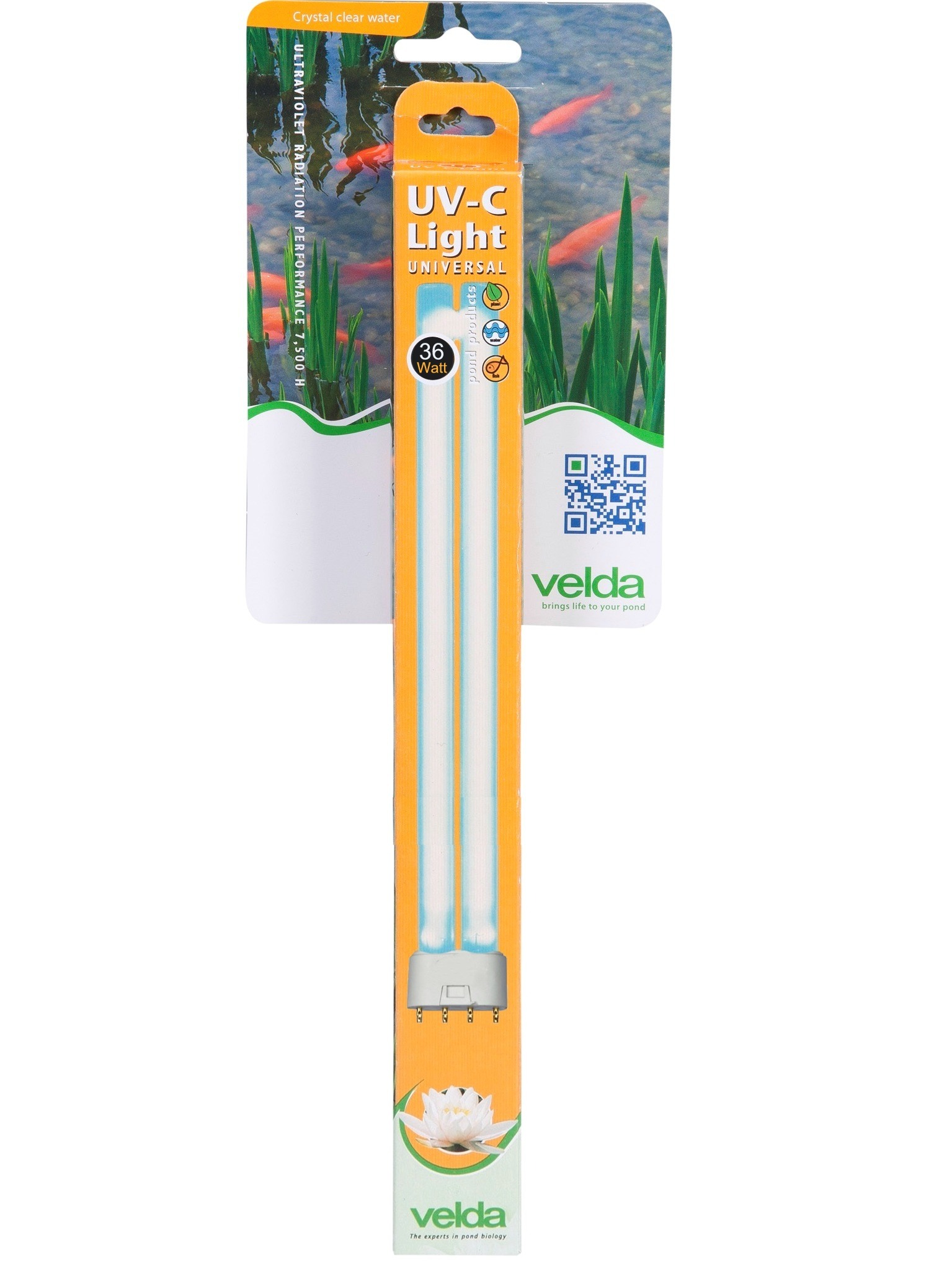 VELDA Lampe UV-C Germicide 36W culot 2G11