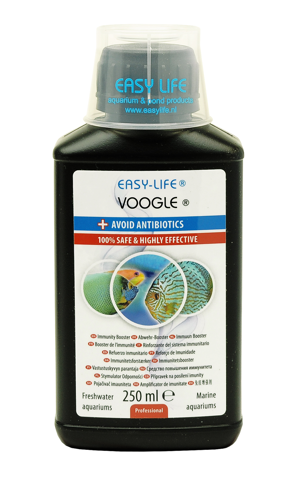 EASY-LIFE Voogle 250ml soin préventif naturel qui réduit les risques de maladie chez les poissons