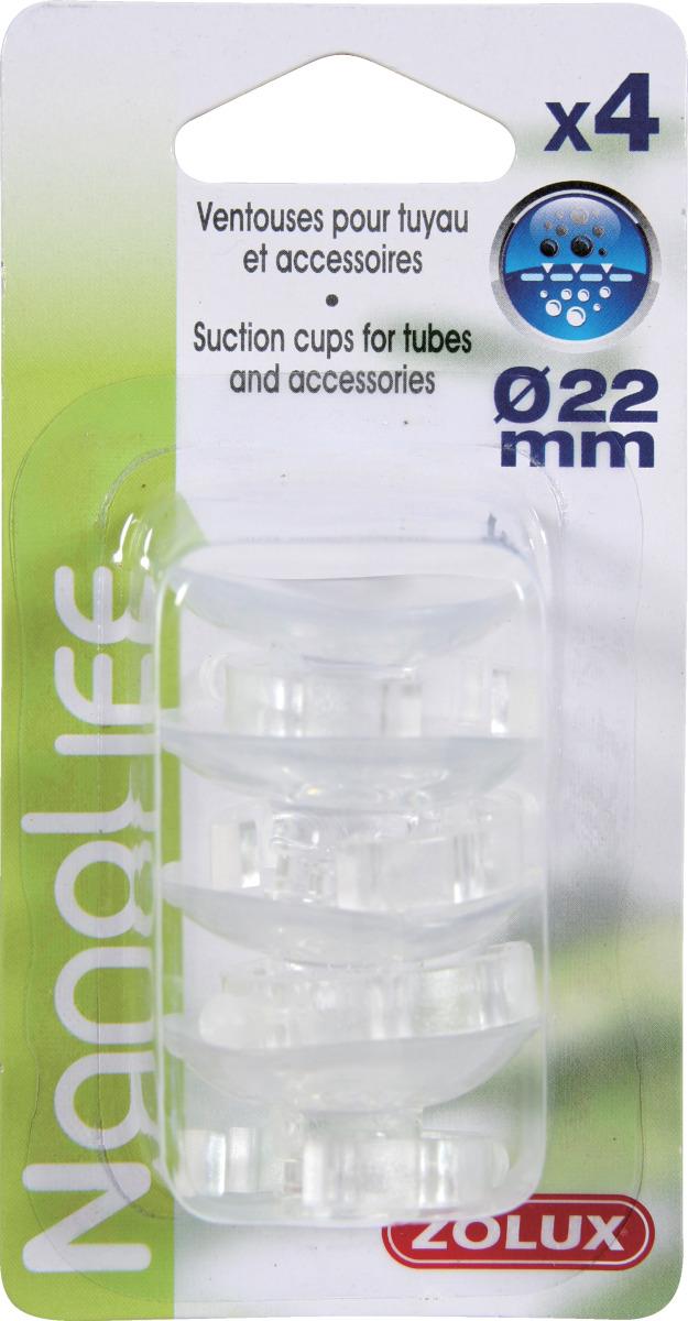 ZOLUX NanoLife lot de 4 ventouses pour tuyaux d\'eau 16/22 mm