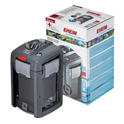 EHEIM 2371 professionel 4+ 250T thermofiltre extérieur pour aquarium jusqu\'à 250 L avec masses filtrantes et chauffage intégré