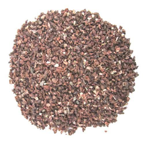 HOBBY Terrano Calcium rouge granulométrie 2 à 3 mm 25 kg pour sauriens, les serpents et les tortues