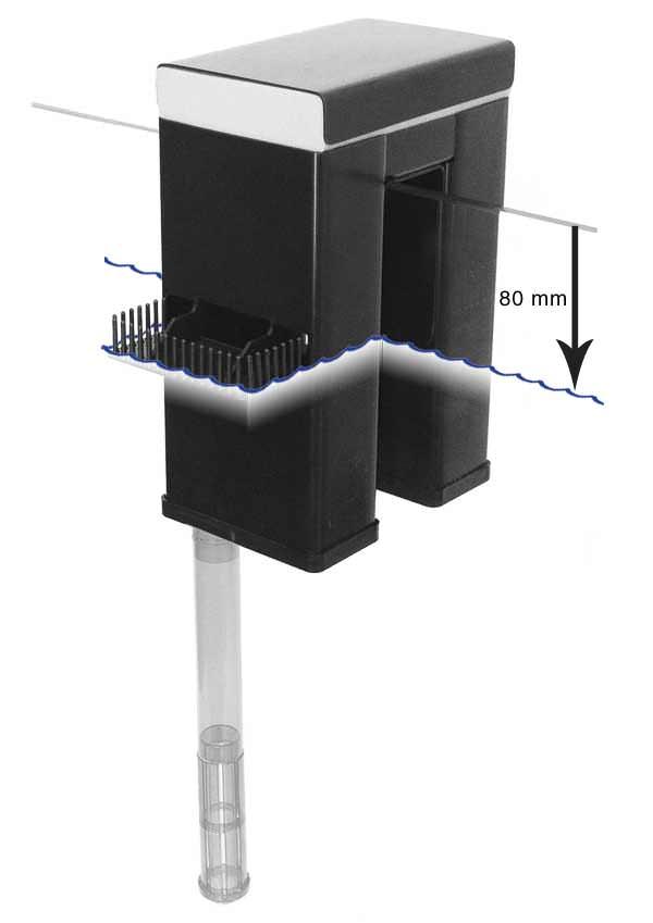 TUNZE Overflow Box 1074/2 1200l/h déversoirs sans perçage de cuve