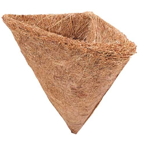 HOBBY Corbeille pointue en fibre de coco 13 x 10 cm pour plante verte