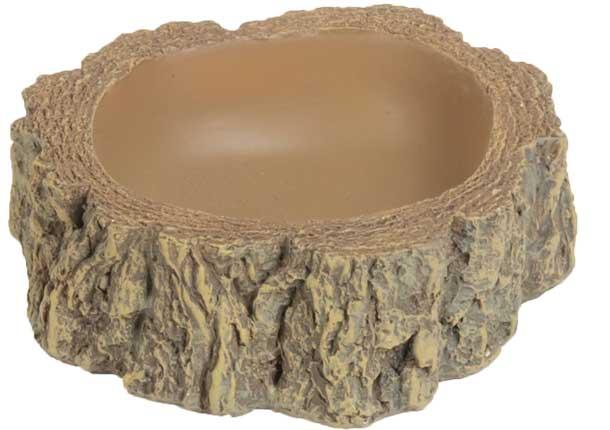 HOBBY Abreuvoir Bark 3 dimension 30 x 30 x 8 cm pour terrarium