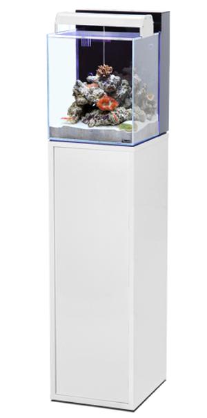 aquarium aquatlantis nano marin 40 l tout quip coloris noir ou blanc avec ou sans meuble. Black Bedroom Furniture Sets. Home Design Ideas