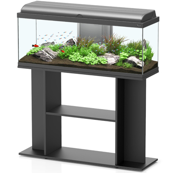aquarium aquatlantis aquadream 100 tout quip 115 l. Black Bedroom Furniture Sets. Home Design Ideas
