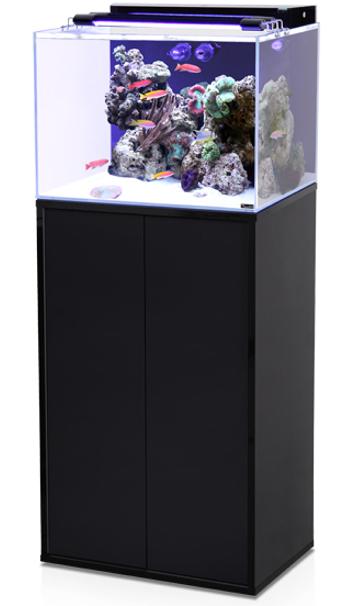 Aquarium aquatlantis aqua marin 120 l tout quip avec for Meuble aquarium 120 cm