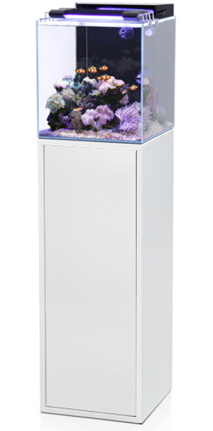 aquarium aquatlantis aqua marin 60 l tout quip avec meuble coloris noir ou blanc aquariums. Black Bedroom Furniture Sets. Home Design Ideas