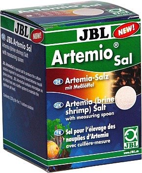 JBL Artemio Sal 230gr sel spécial avec microalgues pour la culture d\'artémias