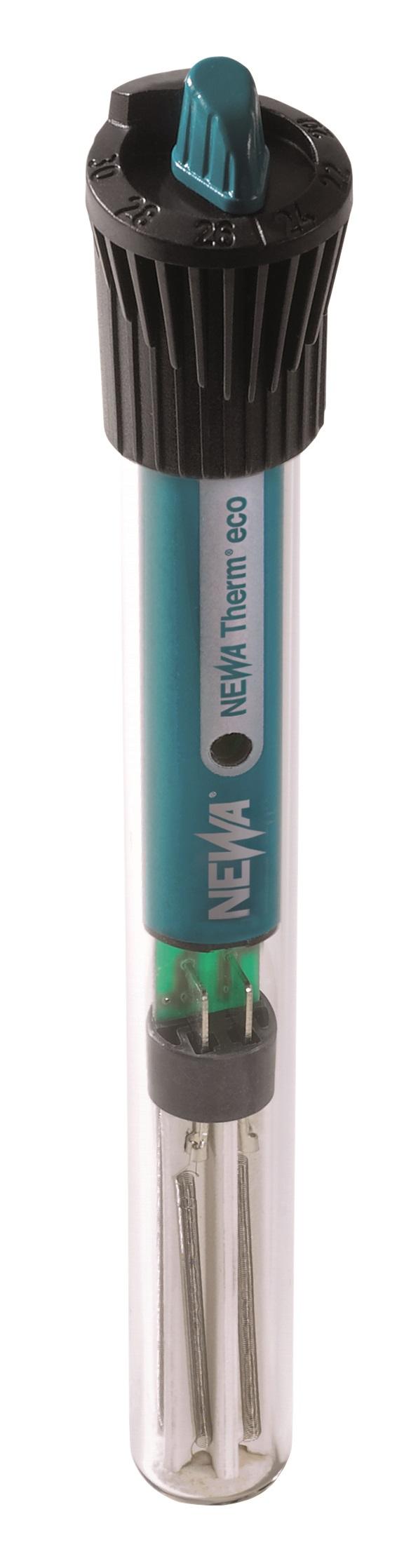 NEWA Therm Eco 25W chauffage avec thermostat intégré pour aquarium de 12 à 25 L