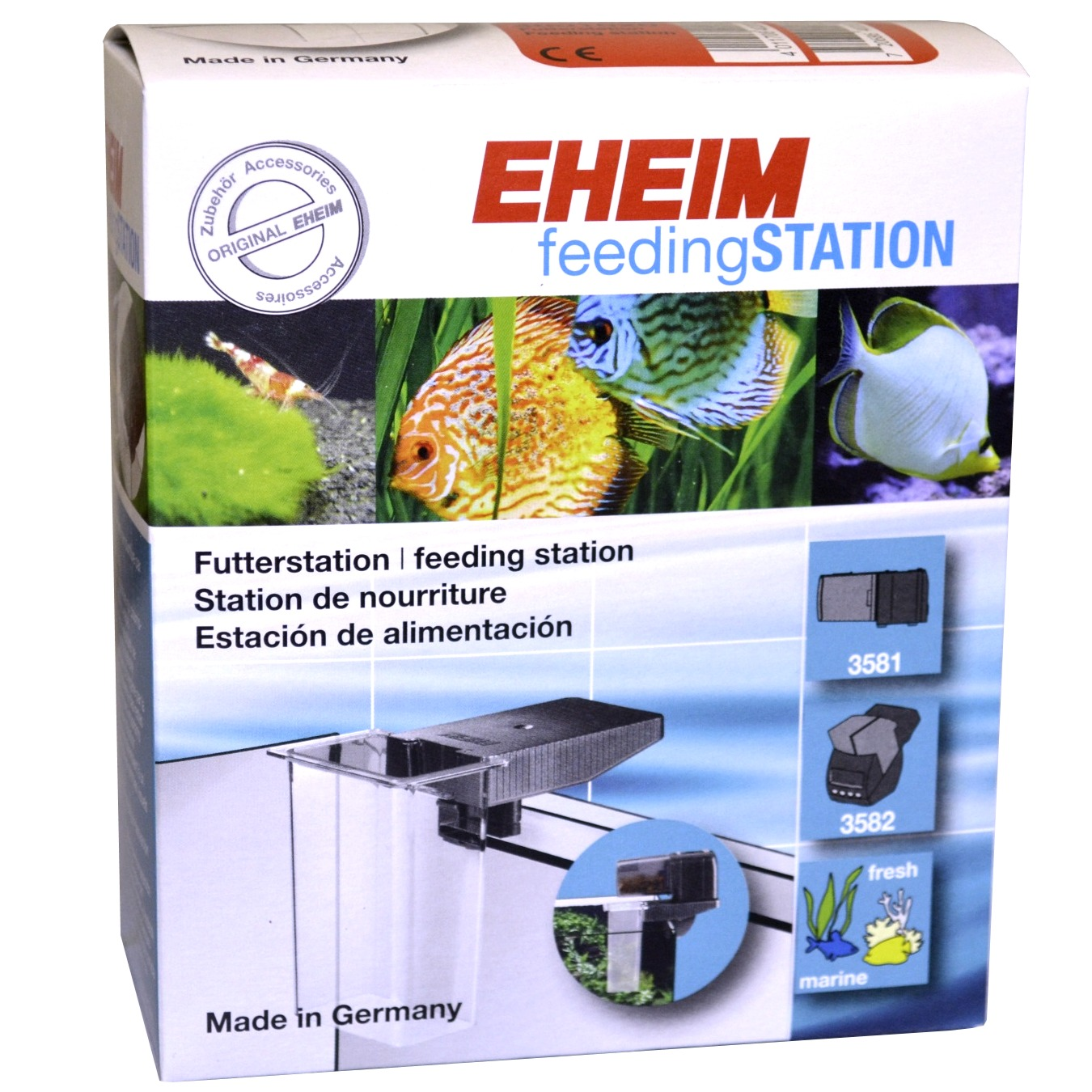 Eheim feedingstation support pour distributeur de for Nourriture aquarium