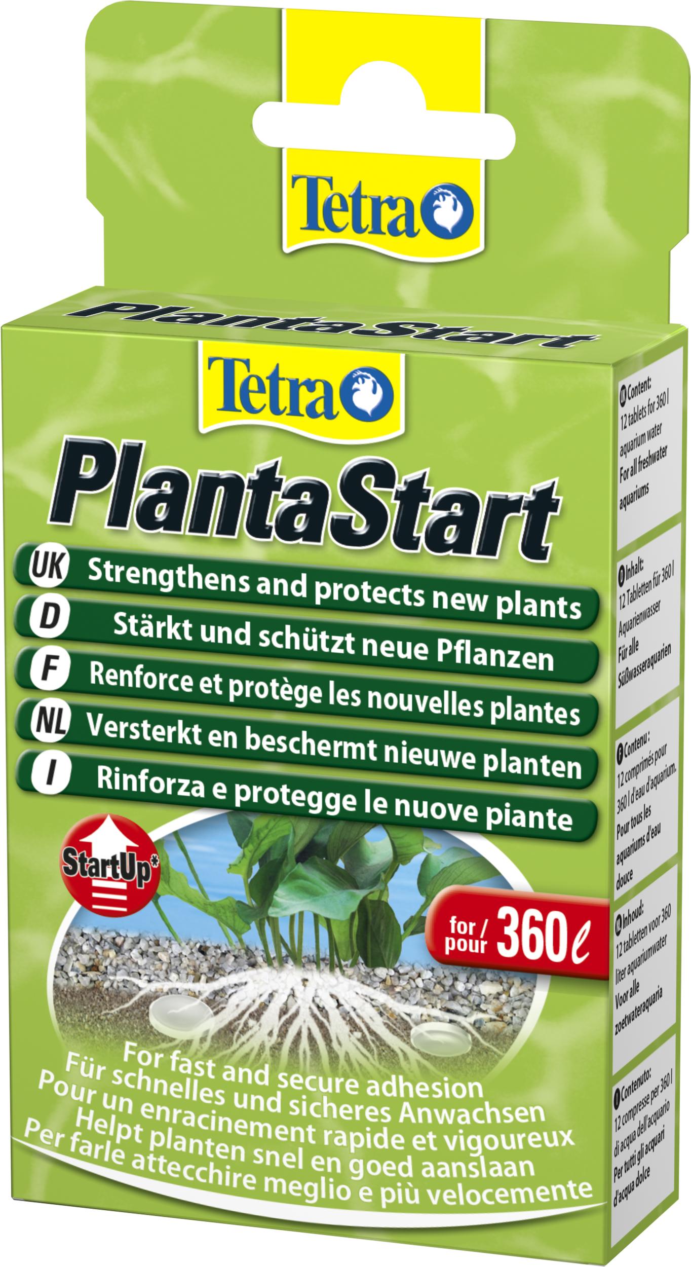TETRA PlantaStart 20 comprimés fertilisant spécial pour nouvelles plantes
