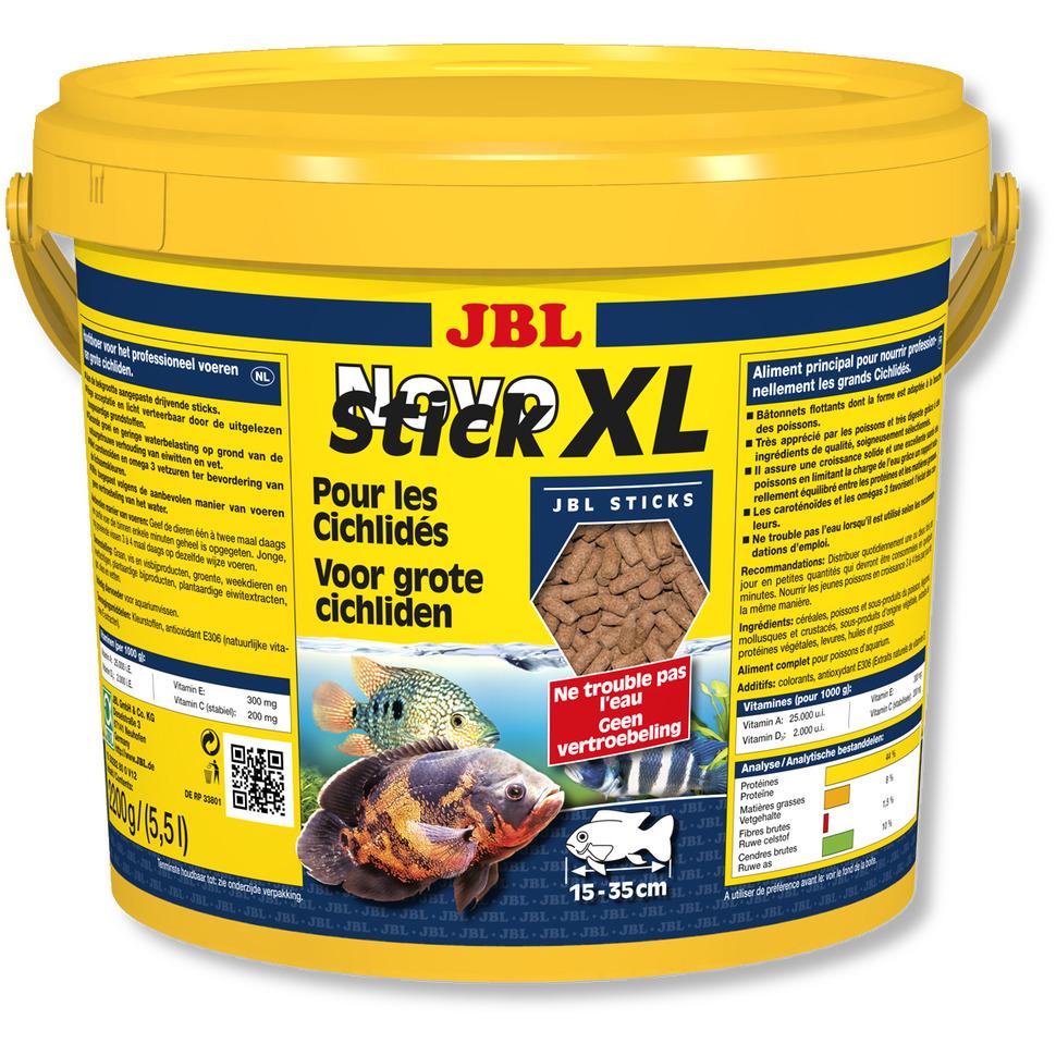 JBL NovoStick XL 5,5 L nourriture en granulé spéciale cichlidés