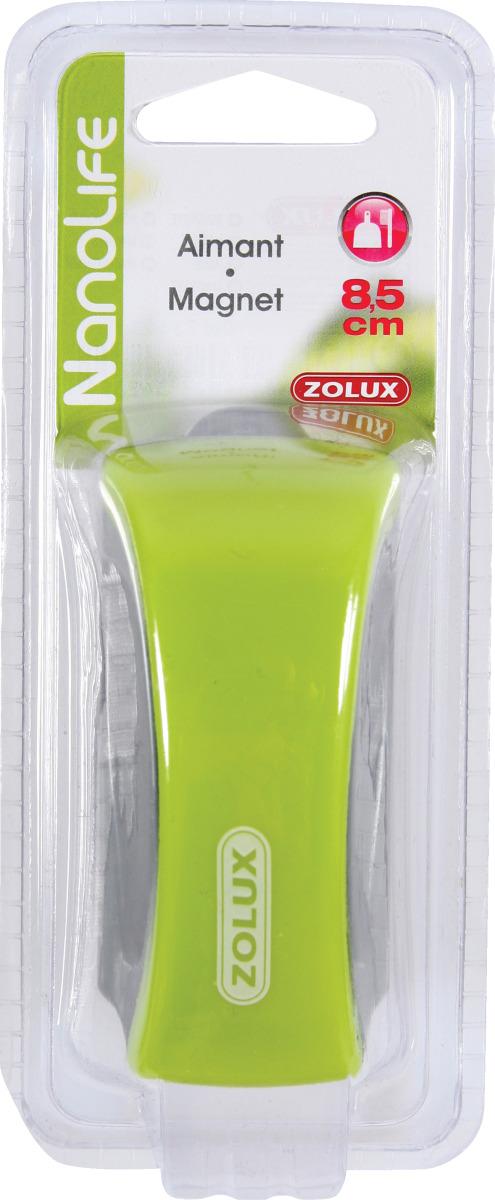 ZOLUX Aimant 8,5 cm de long pour le nettoyage des vitres d\'aquarium
