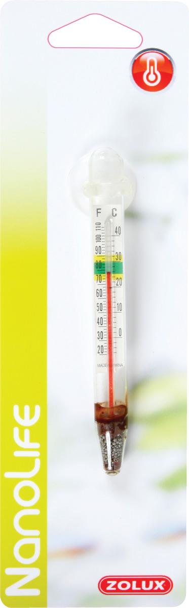 ZOLUX Thermomètre avec ventouse pour aquarium