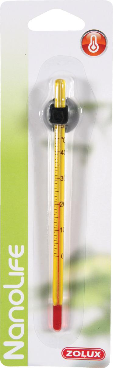 ZOLUX Thermomètre de précision avec ventouse pour aquarium