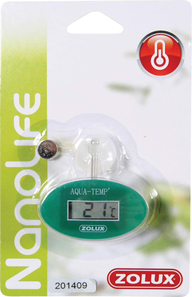 ZOLUX Thermomètre électronique digital pour aquarium