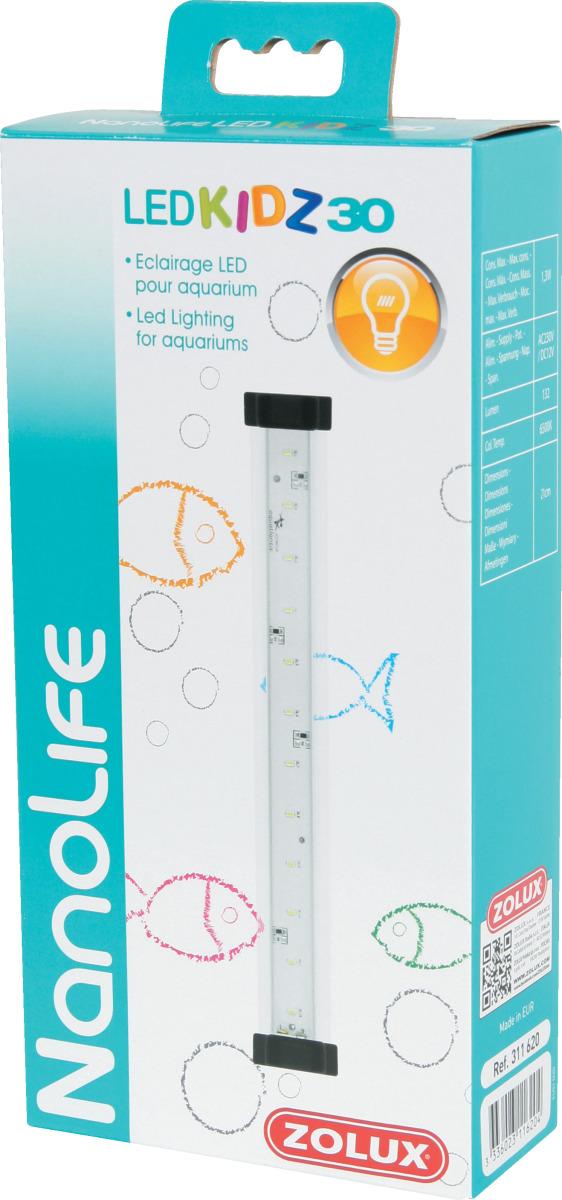 ZOLUX NanoLife Led Kidz 30 rampe d\'éclairage LEDs 21 cm