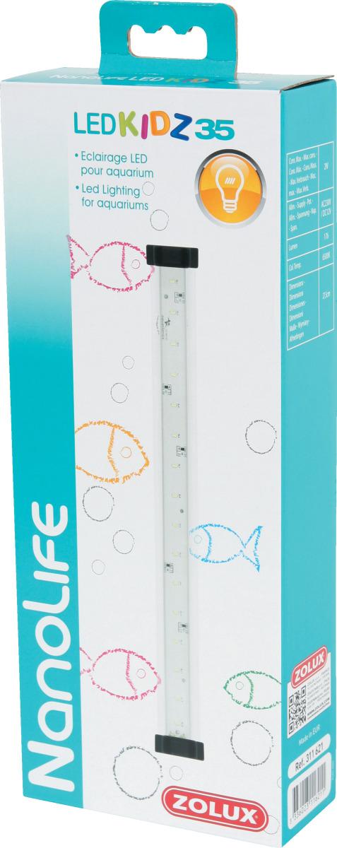 ZOLUX NanoLife Led Kidz 35 rampe d\'éclairage LEDs 27,5 cm