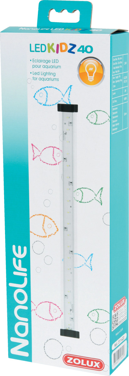 ZOLUX NanoLife Led Kidz 40 rampe d\'éclairage LEDs 32,5 cm