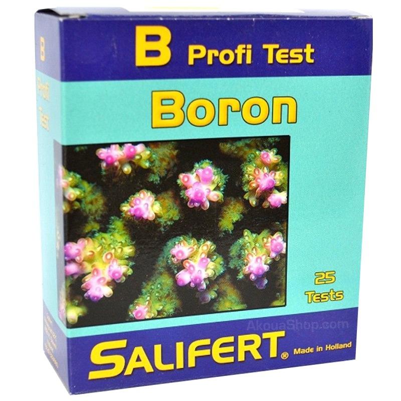 SALIFERT Profi-Test Boron détermine avec précision la teneur en Bore en aquarium marin
