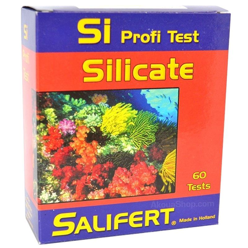 SALIFERT Profi-Test Silicate détermine avec précision la teneur en Silicates en aquarium marin