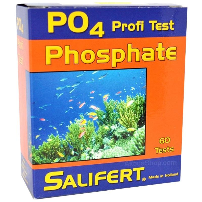 SALIFERT Profi-Test Phosphate test PO4 en aquarium d\'eau de mer et eau douce