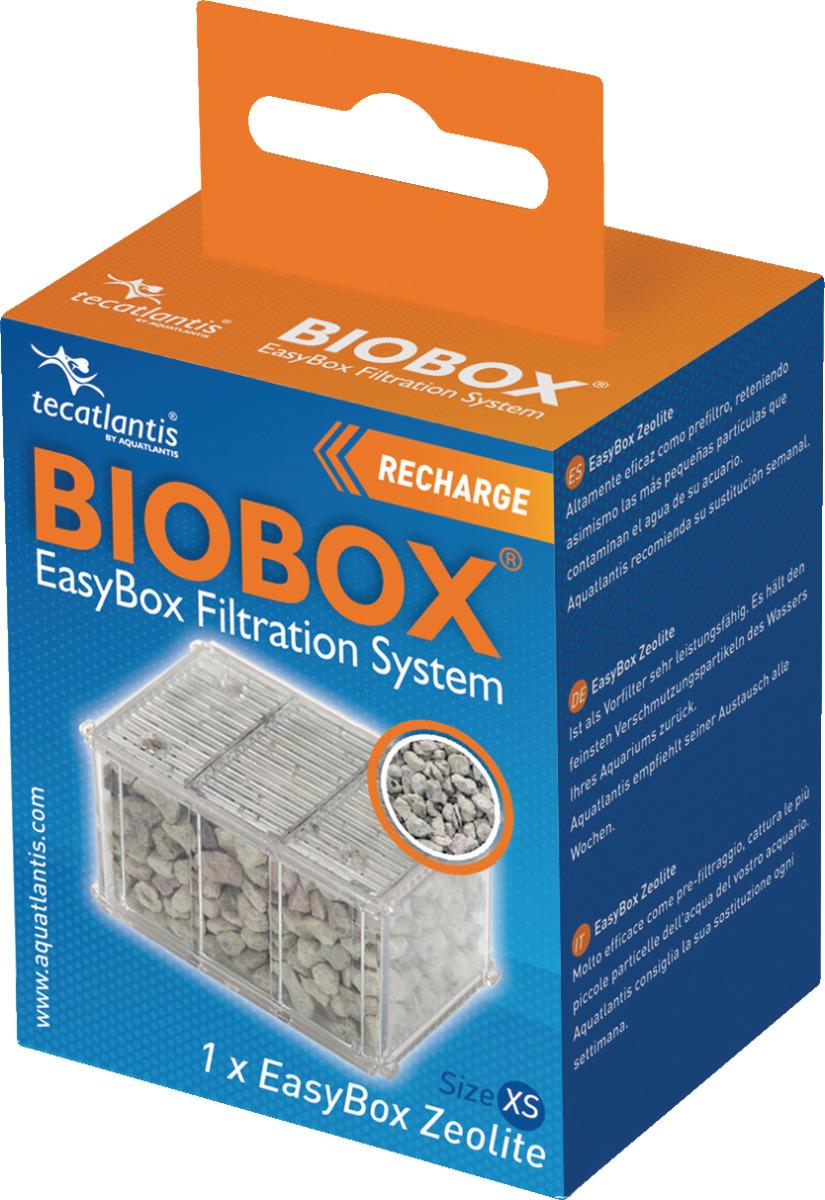 AQUATLANTIS EasyBox Cartouche Zéolite XS pour filtre Mini Biobox 1 et 2