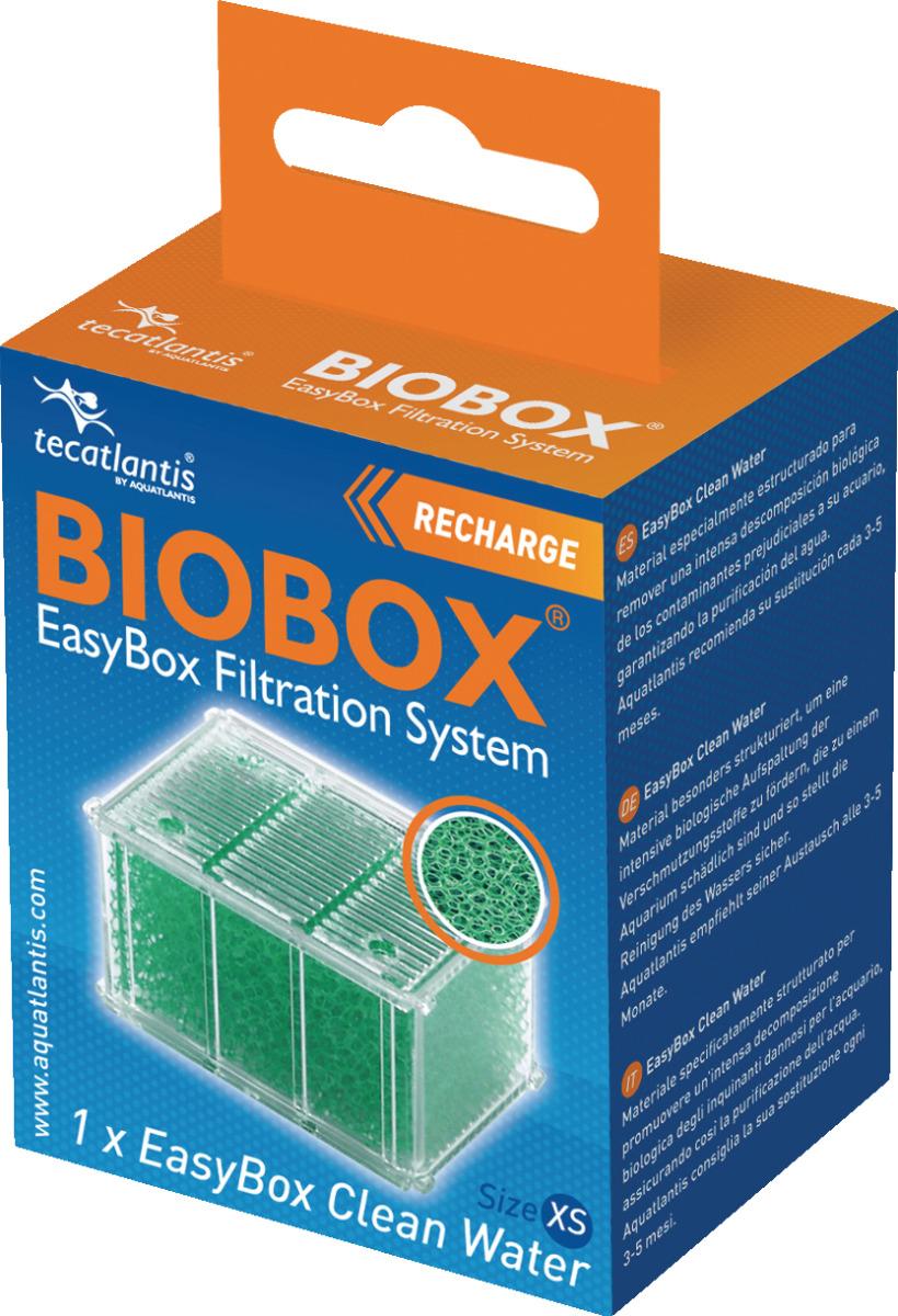 AQUATLANTIS EasyBox Cleanwater XS mousse anti-algues pour filtres Mini Biobox 1 et 2