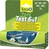 TETRA Pond QuickTest 6 en 1 kit de tests en bandelette pour l'analyse simple et rapide de l'eau de votre bassin