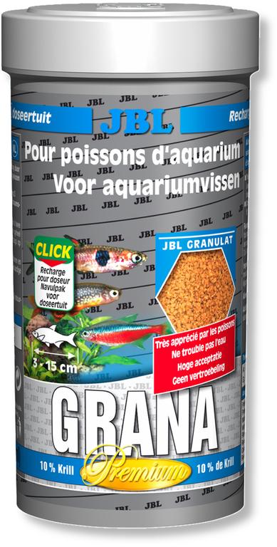 Jbl grana 250 ml nourriture premium en granul s pour for Jbl nourriture poisson