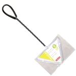 ZOLUX Épuisette Delta triangulaire 13 cm à maille fine très pratique pour attraper les poissons dans les angles