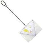 ZOLUX Épuisette Delta triangulaire 17 cm à maille fine très pratique pour attraper les poissons dans les angles