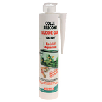 ZOLUX SA 500 Colle Silicone Transparente 310 ml pour collage d'aquarium en verre