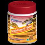 OCEAN NUTRITION Cichlid Omni Flocons 156 gr. nourriture pour Cichlidés omnivores comme les Scalaires, Discus et autres Ciclidés d'Amérique du Sud