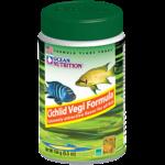 OCEAN NUTRITION Cichlid Vegi Flocons 156 gr. nourriture pour Cichlidés africains et autres poissons d'eau douce végétariens