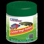 OCEAN NUTRITION Cichlid Vegi Granulés Medium 100 gr. nourriture pour Cichlidés africains et Cichlidés d'Amérique du Sud végétariens