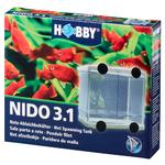 HOBBY Nido 3.1 pondoir filet 16 x 16 x 14 cm avec séparateur pour poissons