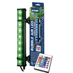 HOBBY Bubble Air Led 33 cm diffuseur d'air 18 leds pour aquarium