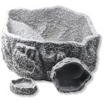 JBL ReptilBar Gris L écuelle 16 x 14 x 5 cm pour eau, nourriture ou baignade