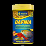 TROPICAL Dafnia 100 ml nourriture composée à 100% de puces d'eau séchées pour poissons carnivores et omnivores