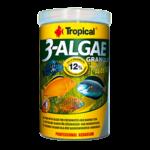 TROPICAL 3-Algae Granulat 100 ml nourriture en granulées riches en algues pour poissons herbivores et omnivores