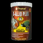 TROPICAL D-Allio Plus Granulat 1L nourriture en granulées avec ail pour poissons exigeants d'eau douce et d'eau de mer