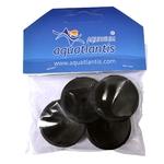 AQUATLANTIS Lot de 4 ventouses double pour filtre BioBox ou autre