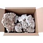 Caisse de 5 Kg de Coraux morts en morceaux d'environ 15 à 30 cm pour aquarium d'eau de mer