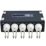 JEBAO DP-5 pompe doseuse 5 canaux pour l'automatisation des apports liquides dans les aquariums